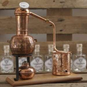 Destille für Gin Seminar in Hannover gin selber machen gin selber brennen