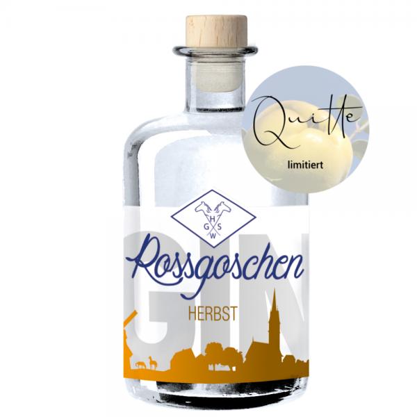 Rossgoschen Gin Herbst Quitte von Rossgoschen Spirituosen Manufaktur aus Hannover, Niedersachsen