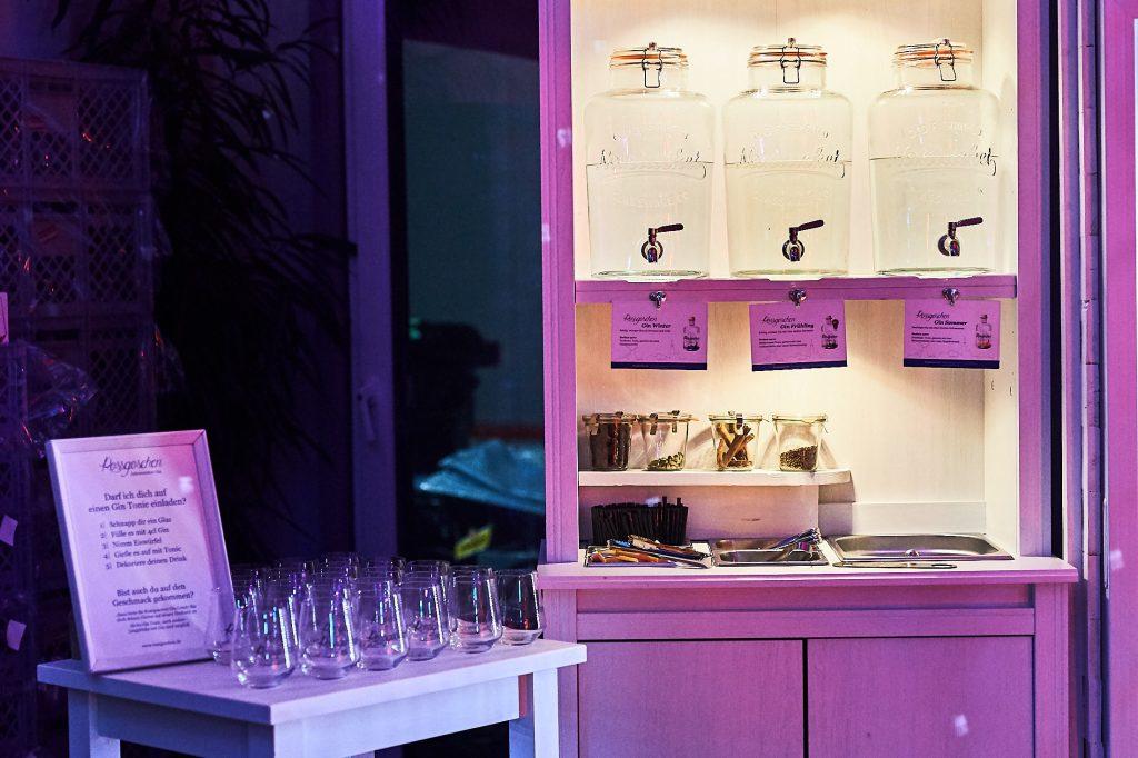 Destille für Gin Seminar in Hannover