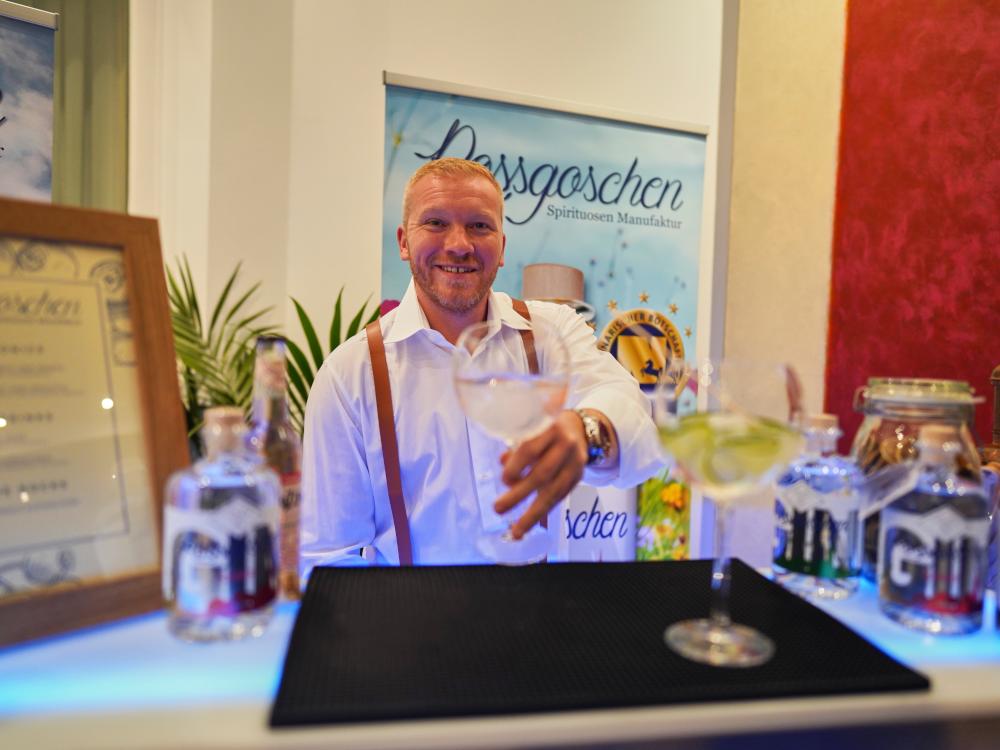 Rossgoschen Spirituosen Manufaktur Cocktail Catering Vinc