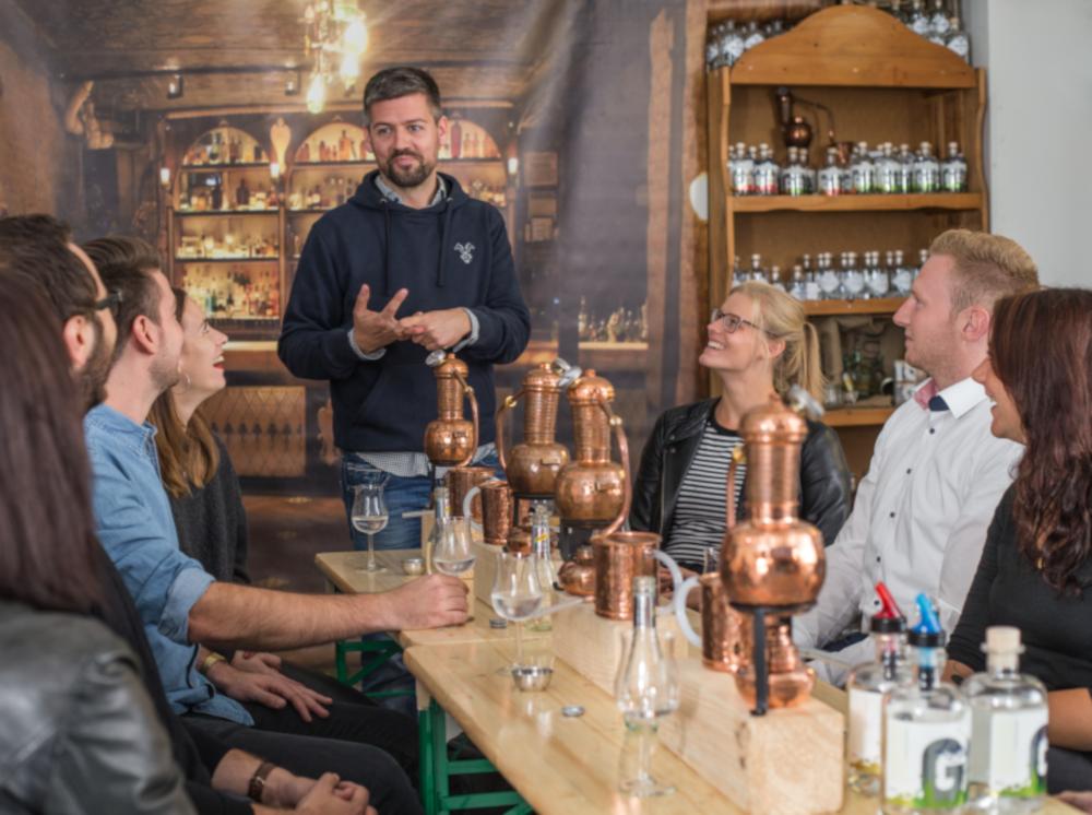 Rossgoschen Spirituosen Manufaktur Gin Tasting Hannover
