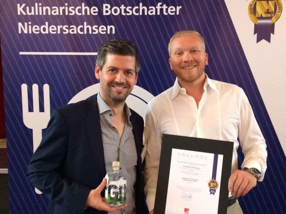 Rossgoschen Spirituosen Manufaktur Hannover Kulinarischer Botschafter Niedersachsens 2018