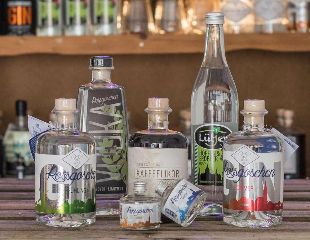 Rossgoschen Spirituosen Manufaktur Hannover Produkte