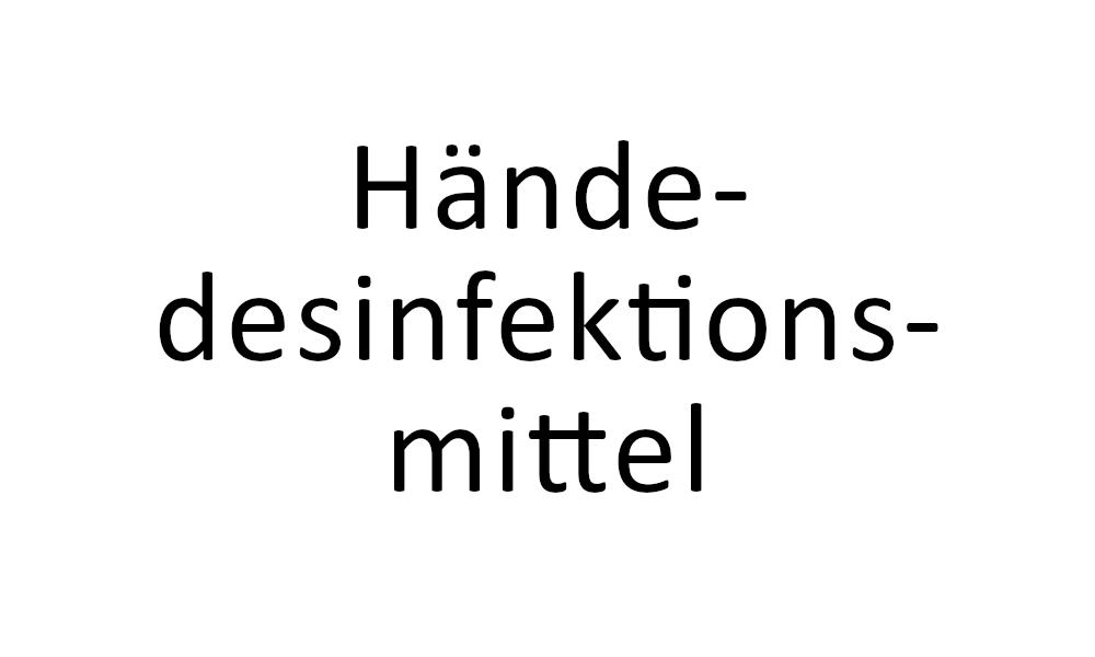 RSM Haendedesinfektionsmittel Hannover