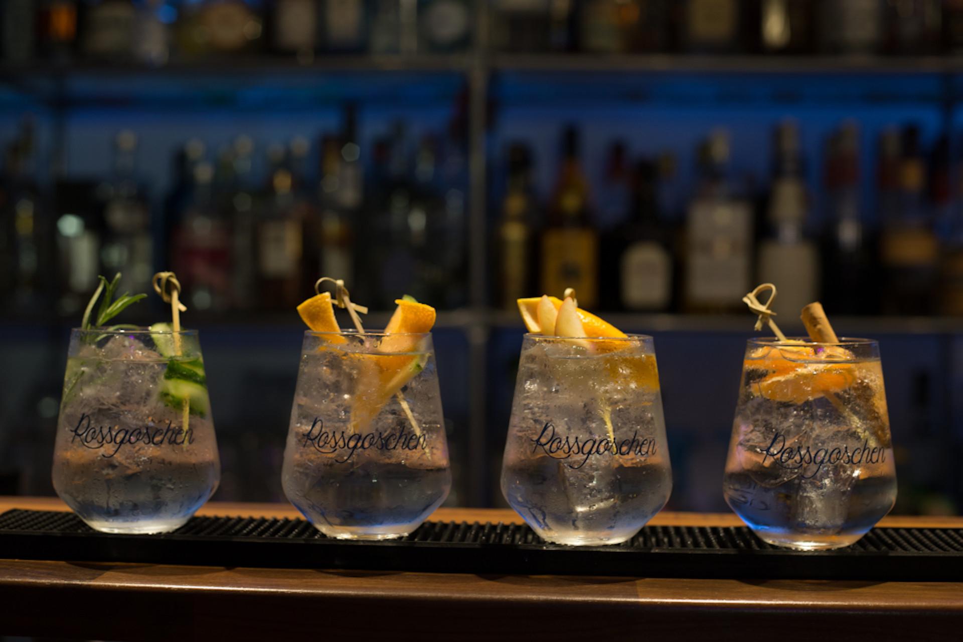 Rossgoschen Spirituosen Manufaktur 4 Jahreszeiten Gin Tonic 1920