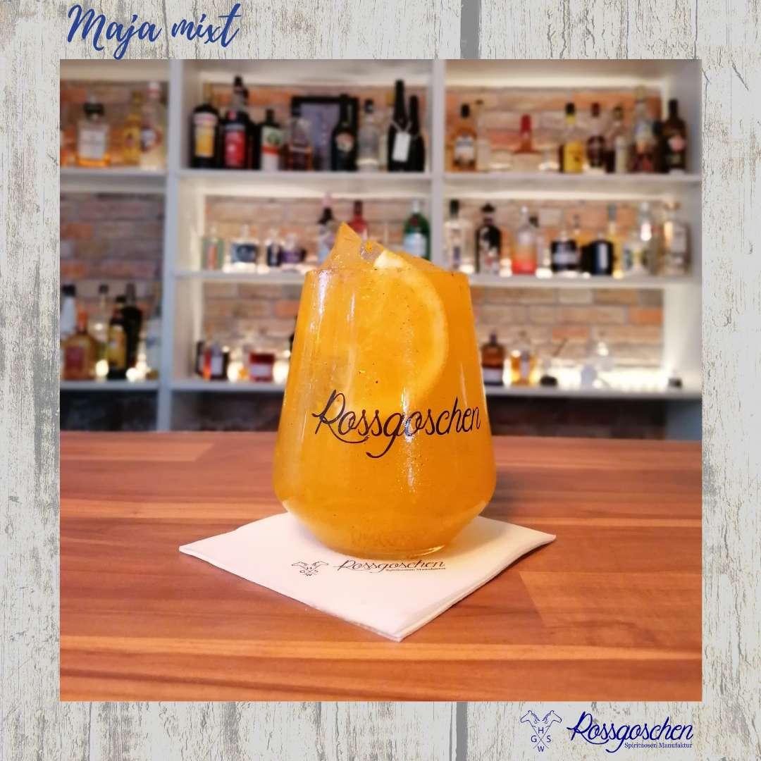 Gin Cocktail Rezept Kürbisgin Roasted Pumpkin Gin