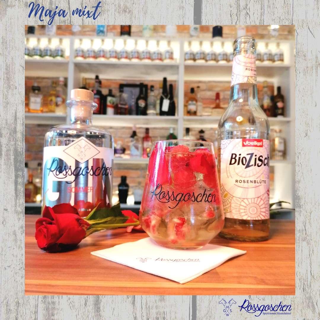 Gin Cocktail Rezept Rosengin