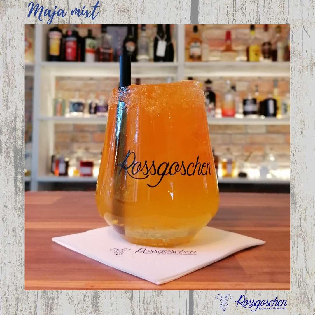 Gin Rezept Sicilian Gimlet Rossgoschen Spirituosen Manufaktur Hannover