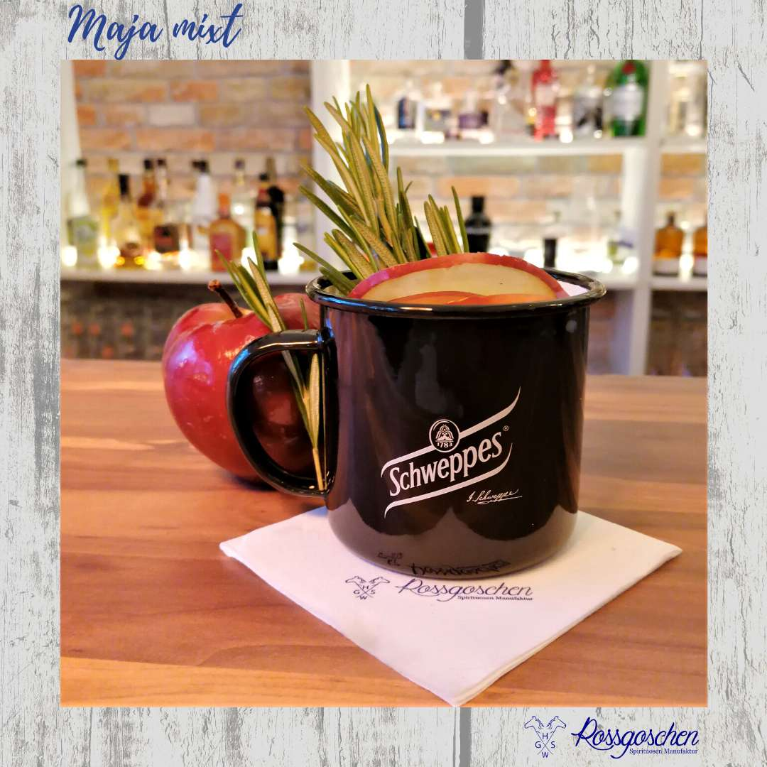 Gin Rezept Hot Apple Gin Rossgoschen Spirituosen Manufaktur