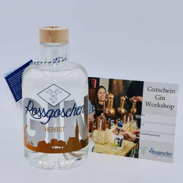 Gutschein Gin Workshop mit Rossgoschen Gin Herbst deiner Wahl von der Rossgoschen Spirituosen Manufaktur Hannover