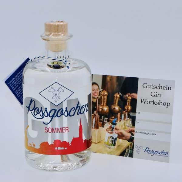 Gutschein Gin Workshop mit Rossgoschen Gin Sommer deiner Wahl von der Rossgoschen Spirituosen Manufaktur Hannover