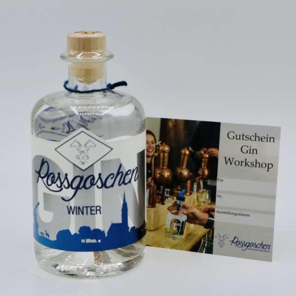 Gutschein Gin Workshop mit Rossgoschen Gin Winter deiner Wahl von der Rossgoschen Spirituosen Manufaktur Hannover