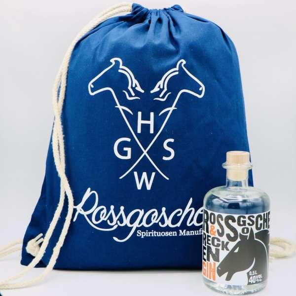 RECKEN Gin mit Turnbeutel von der Rossgoschen Spirituosen Manufaktur Hannover