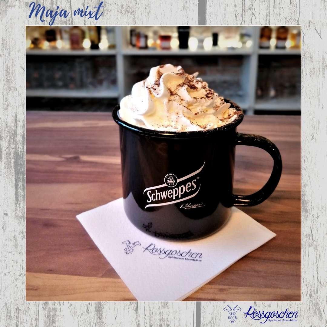 Gin Rezept Kakao mit Kaffeelikör Rossgoschen Spirituosen Manufaktur