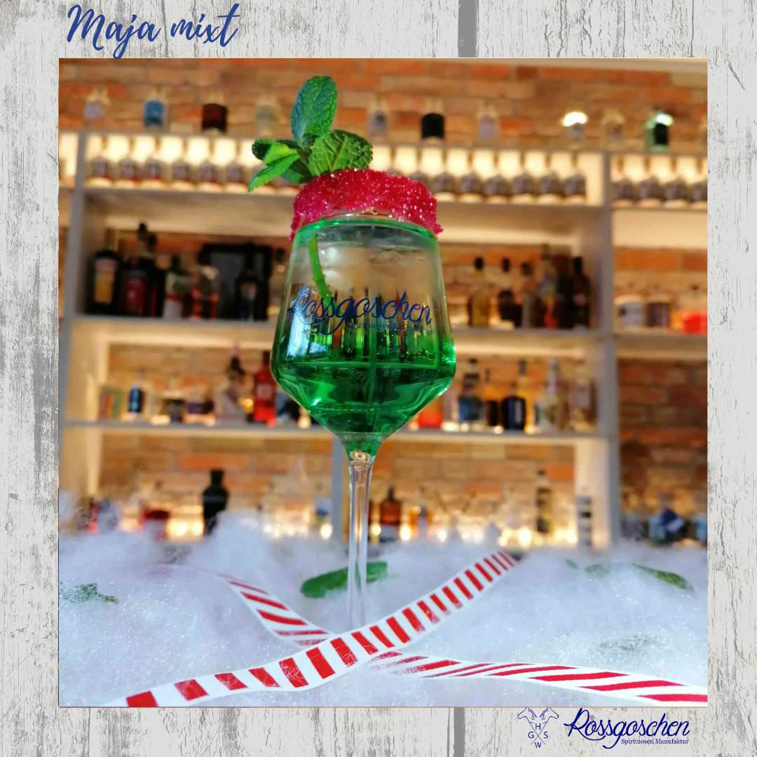 Gin Rezept Minz Gin Rossgoschen Spirituosen Manufaktur