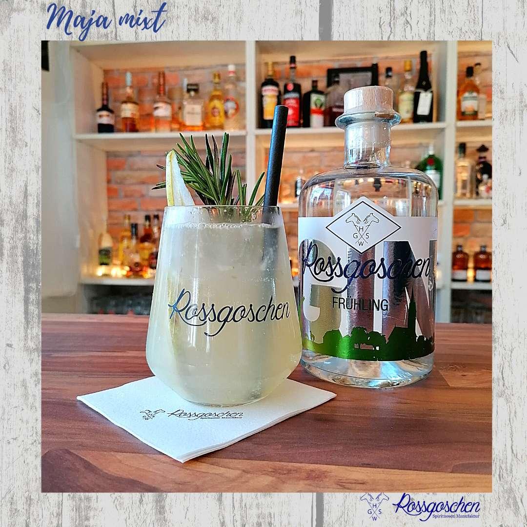 Gin Rezept Rosmarin Birne Gin Fizz Rossgoschen Spirituosen Manufaktur