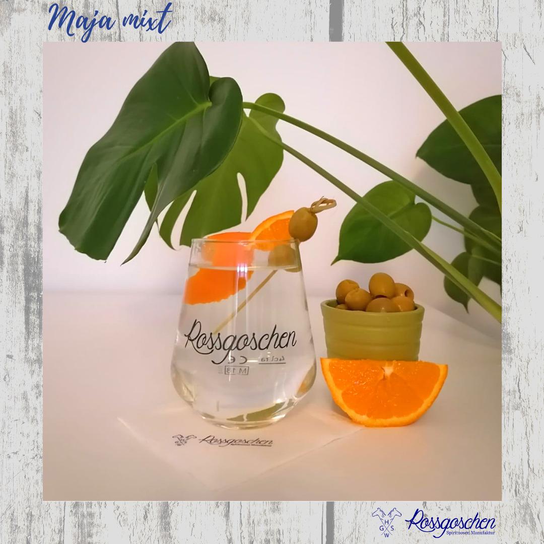 Gin Rezept Martini Rossgoschen Spirituosen Manufaktur