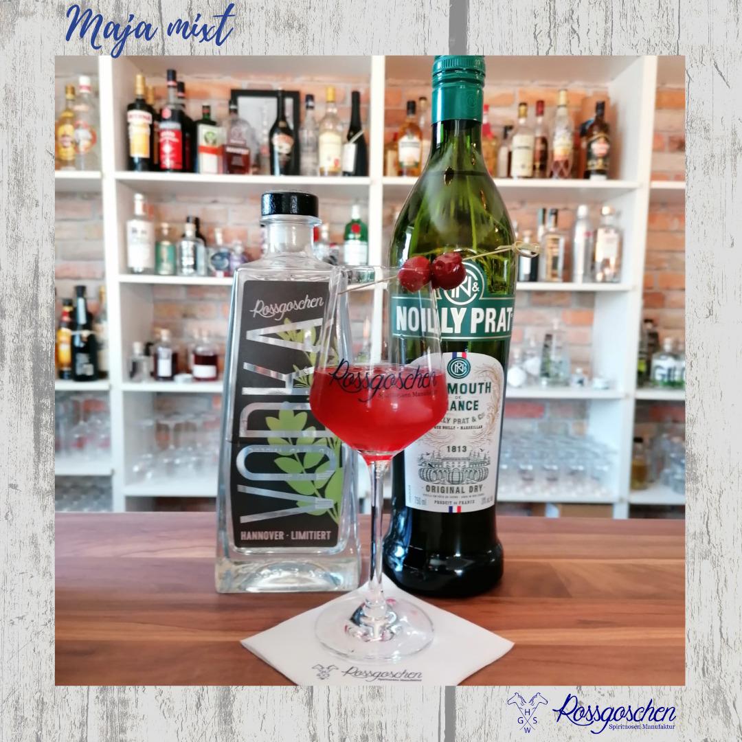 Gin Rezept Cherry Martini Rossgoschen Spirituosen Manufaktur