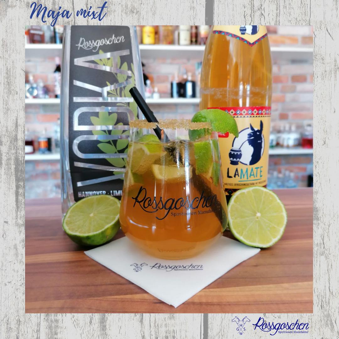 Gin Rezept Vodka Mate Rossgoschen Spirituosen Manufaktur
